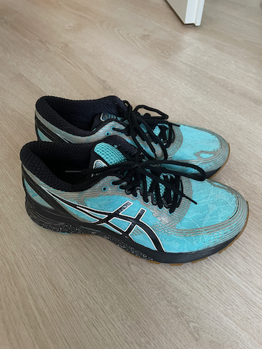 Nicole Asics Gel Nimbus 21 Nordic Walking Schuhe