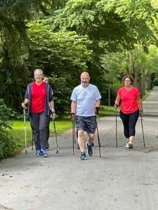 East Side Walkers Dortmund Nordic Walking Lauftreff in Action