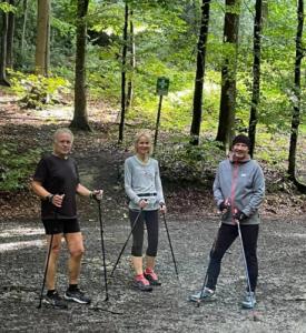Nordic Walking Lauftreff East Side Walkers Dortmund - Schwerter Wald